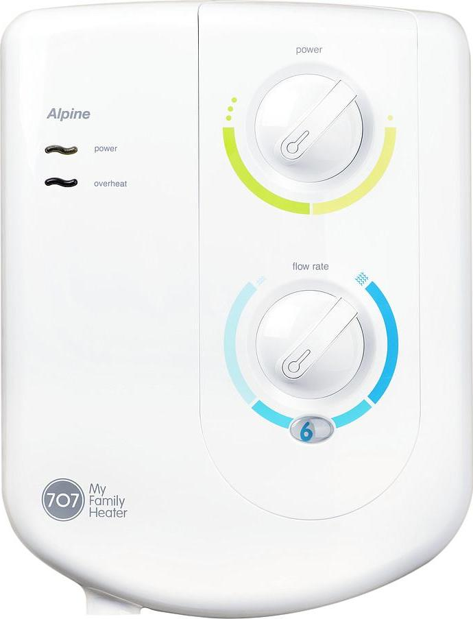 707 ALPINE ELECTRIC INSTANT WATER HEATER