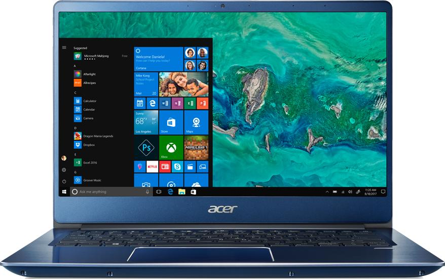 ACER 14IN INTEL I3-8130U 4GB 128GB SSD (BLUE) SF314-54-35RM