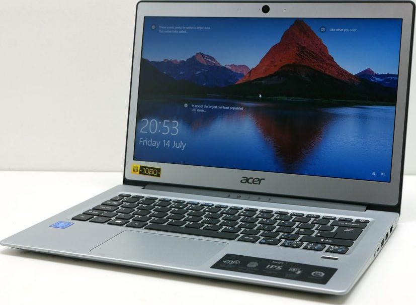 ACER 13.3IN 4GB 128GB SSD INTEL (SPARKLY SILVER) SF113-31-P8AJ