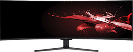 ACER 49IN DFHD LED MONITOR (BLACK) EI491CR