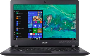 ACER ASPIRE 3 14IN INTEL N4000 4GB 128GB SSD 500GB HDD (BLACK) A314-32-C4HO