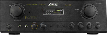 ACE POWER AMPLIFIER (1100W) (BLACK) AV-602BT