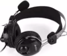 A4TECH COMFORTFIT STEREO USB OVER EAR HEADSET (BLACK) HU-7P