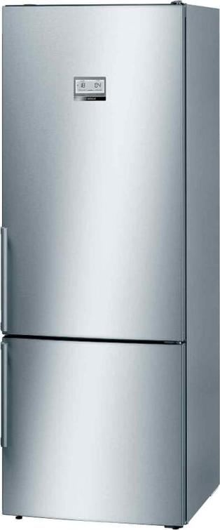 BOSCH 2 DR BOTTOM MOUNT FREEZER REFRIGERATOR (GROSS 505L) (STAINLESS STEEL) KGN56HI3P