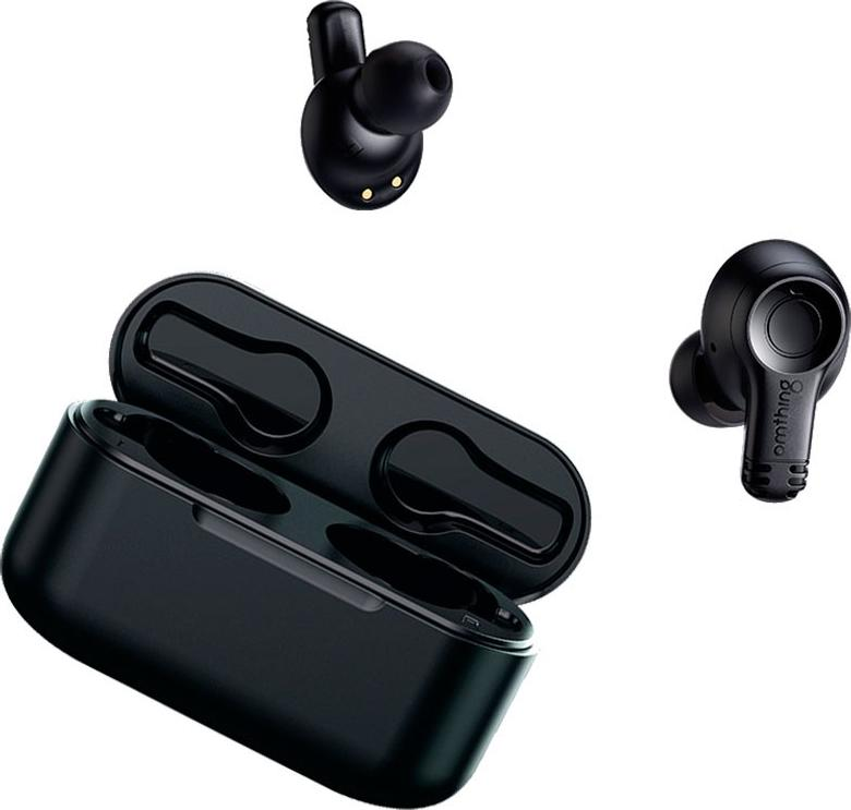1MORE OMTHING TRUE WIRELESS EARBUDS W MIC (BLACK) EO002