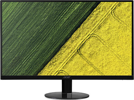 ACER 27IN FHD LED MONITOR (BLACK) SA270