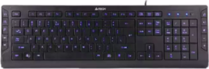 A4TECH KD-600L KEYBOARD (BLACK)