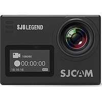 SJCAM SJ6 LEGEND 16MP 4K HD LCD TOUCH SCREEN ACTION CAMERA (BLACK)