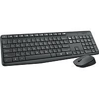 LOGITECH WIRELESS KEYBOARD N MOUSE COMBO (BLACK) MK235