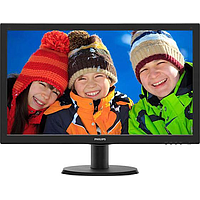 PHILIPS 23.6IN V-LINE WLED MONITOR W SMARTCONTROL 243V5QHSBA/69
