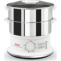 TEFAL CONVENIENT STEAM COOKER (WHITE / STAINLESS STEEL) VC1451