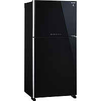 SHARP 2 DR TOP MOUNT FREEZER REFRIGERATOR (GROSS 570L) (BLACK) SJ-PG51P-BK