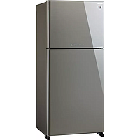 SHARP 2 DR TOP MOUNT FREEZER REFRIGERATOR (GROSS 656L) (SILVER) SJ-PG60P-SL