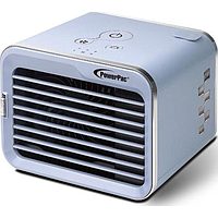 POWERPAC PERSONAL AIR COOLER (WHITE / BLUE) PP7318