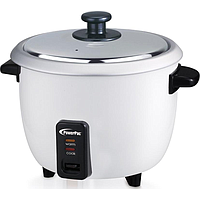 POWERPAC RICE COOKER W ALUMINIUM INNER POT (1L) (400W) (WHITE) PPRC4