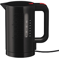 BODUM BISTRO ELECTRIC WATER KETTLE JUG (1L) (1300W) (BLACK)