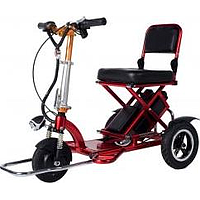 MOBOT FLEXI 2ND GEN 3 WHEEL MOBILITY SCOOTER (350W) (RED)