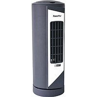 POWERPAC 9IN MINI TOWER FAN W OSCILLATION (GRAY) PPTF10
