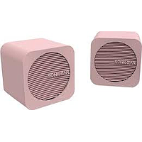 SONICGEAR BLUE CUBE WIRELESS PORTABLE SPEAKER (PEACH)
