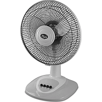 POWERPAC MY CHOICE 16IN DESK FAN W OSCILLATION (GREY) MC505