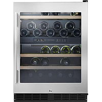 FISHER N PAYKEL WINE COOLER (38 BOTTLE) (STAINLESS STEEL) RS60RDWX1