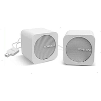 SONICGEAR BLUE CUBE WIRELESS PORTABLE SPEAKER (WHITE)