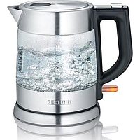 SEVERIN GLASS JUG KETTLE (2200W) (STAINLESS STEEL / BLACK) WK 3468