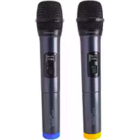 SONICGEAR PROFESSIONAL VHF TWIN WIRELESS MICROPHONES WMC 2200RR