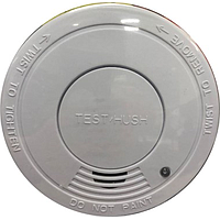 POWERPAC SMOKE DETECTOR W HUSH FUNCTION (WHITE) PPSD127