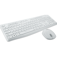 ALCATROZ XPLORER AIR 6600 WIRELESS KEYBOARD N MOUSE COMBOS (WHITE)