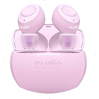 SUDIO TOLV R TRUE WIRELESS IN EAR EARBUDS (PASTEL PINK)