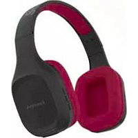 SONICGEAR AIRPHONE 5 OVER EAR BLUETOOTH HEADPHONE (BLACK / RED)