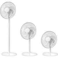 EUROPACE 14IN 3 IN 1 5 BLADES STAND FAN (WHITE) ESF 3140V