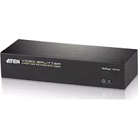 ATEN 4-PORT VGA/AUDIO SPLITTER AMPLIFIER (450MHZ) VS0104