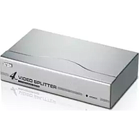ATEN 4 PORT VGA SPLITTER (350MHZ) (SILVER) VS94A