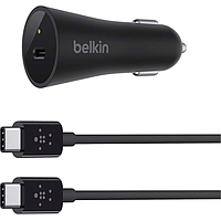 BELKIN USB-C CAR CHARGER (BLACK) F7U004BT04