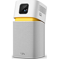 BENQ GV1 PORTABLE PROJECTOR W WI-FI N BLUETOOTH SPEAKER (WHITE)