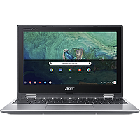 ACER CHROMEBOOK SPIN 11 11.6IN INTEL CELERON N4020 8GB 64GB SSD (SILVER) CP311-2H-C18D