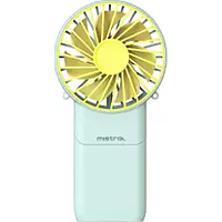 MISTRAL 3IN USB RECHARGEABLE COOL BREEZE FAN (YELLOW) MRF500