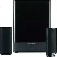 HARMAN KARDON 2.1CH SATELLITE SPEAKER SYSTEM (BLACK) HKTS 2BQ