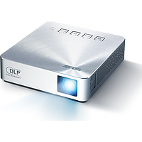 ASUS S1 200 LUMENS PORTABLE LED PROJECTOR (SILVER)