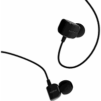 REMAX WIRED STEREO IN EAR EARPHONES W MIC (BLACK) RM-502